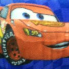 Hand-Tied Fleece Pillow The Cars Print