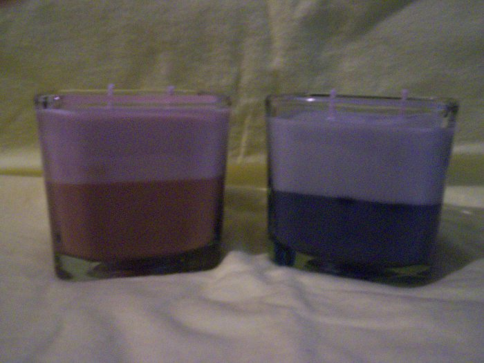 "Men's Two-Tone IntenScents Soy Candle ""Intuition For Men"""