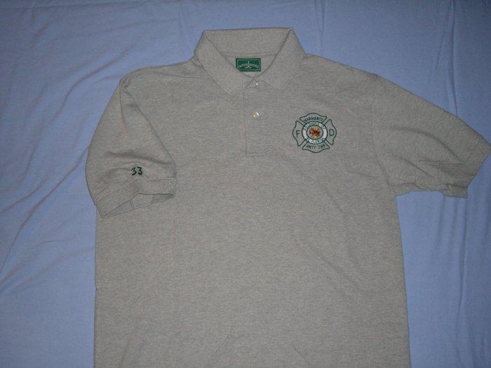 Gray Golf Shirt (L)