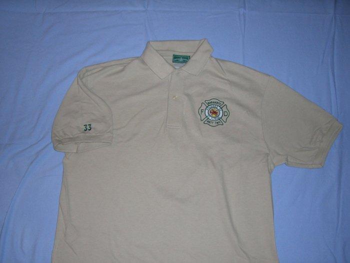Tan Golf Shirt (XL)