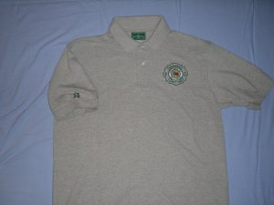Gray Golf Shirt (XL)