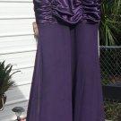 Woman's Purple Dress