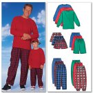 Out of Print 5286 Men's/Boy's Top Shorts Pants Pattern