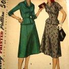 Vintage Simplicity 1007 Womens Suit Pattern sz 14.5
