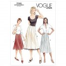 Out of Print Vogue 7735 Women's Flare Skirt Pattern 12-14-16