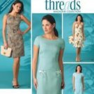Threads Magazine Dress and Bag Pattern 8 10 12 14 16