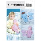"""Butterick 4090 14"""" Baby Doll and Clothes Pattern"""