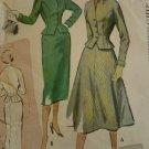 Vintage McCalls 8922 Womens 1952 Suit Pattern sz 12