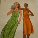 Vintage Butterick Junior's Sundress Pattern sz 10