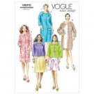 Out of Print Vogue 8210 Women's Coat Pattern 8 10 12