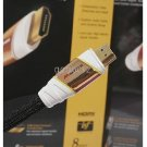 30pcs/lots M1000HD HDMI Cable 1.22Meter / 4Feet HDTV M1000 without Color Box yellow circle