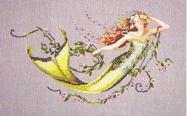 Emerald Mermaid - Cross Stitch Chart