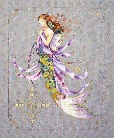Shimmering Mermaid - Cross Stitch Chart