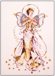 June's Pearl Fairy - Cross Stitch Chart