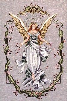 Angel of The New Dawn - Cross Stitch Chart