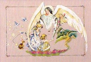 Guardian Angel - Cross Stitch Chart
