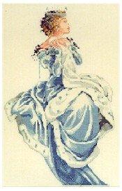 Winter Queen - Cross Stitch Chart