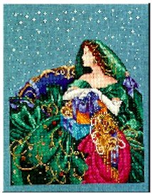 Christmas Elegance - Cross Stitch Chart