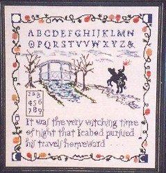 Sleepy Hollow Sampler - Cross Stitch Chart