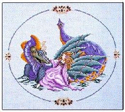 Dragon Lake - Cross Stitch Chart