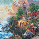 Light Of Peace by Thomas Kinkade - Cross Stitch Chart