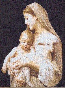 Mother of Innocence - Cross Stitch Chart
