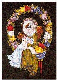 Lady Of The Thread - Cross Stitch Chart