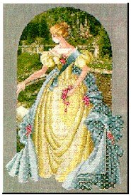 Queen Anne's Lace - Cross Stich Chart