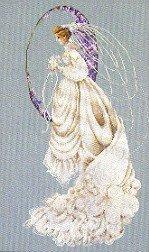 Spring Bride - Cross Stitch Chart