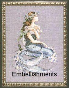 Enchanted Mermaid - Embellishments Kit