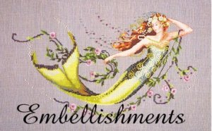 Emerald Mermaid - Embellishments Kit