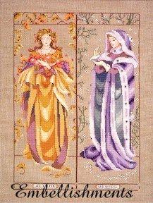 Maidens Of The Seasons II - Fall & Winter - Embellishments Kit
