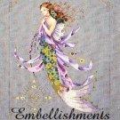 Shimmering Mermaid - Embellishments Kit