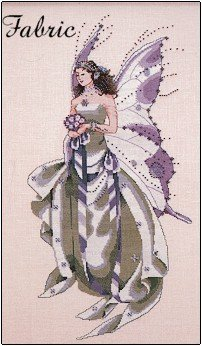 July's Amethyst Fairy - Fabric
