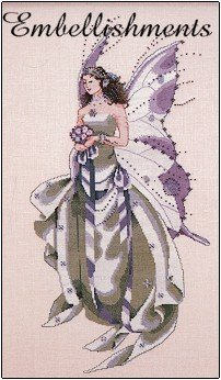 July's Amethyst Fairy - Embellishments
