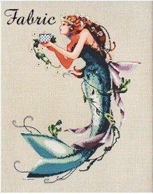 The Queen Mermaid - Fabric