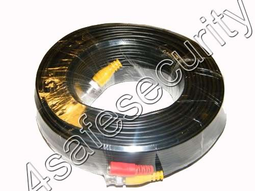 100ft HEAVY DUTY PREMADE SIAMESE CABLE FOR CCTV CAMERA