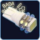 T10, 0.5-Watt + 8-LED