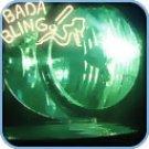 H4 / 9003, Xenon HID Bulbs (pr) - Green