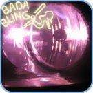H7, Xenon HID Bulbs (pr) - Pink