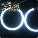 CCFL Angel Eye / Halo: 126mm, White
