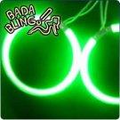 CCFL Angel Eye / Halo: 126mm, Green