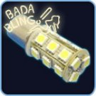 1156, 18-SMD (10 pc / Yellow)