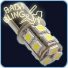 1156, 13-SMD (10 pc / Yellow)
