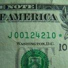 $1 2003A FRN J00124210* STAR NOTE FW, J10