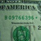 $1 2006 FRN STAR NOTE B09766396*