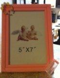 Pink Baby Girl Keepsake Photo Frame