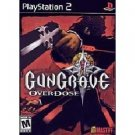 PlayStation 2-Gun Grave Over Dose-Black Label Edition