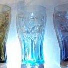 Mc Donald's Coca Cola Glasses 2009 Set of 3