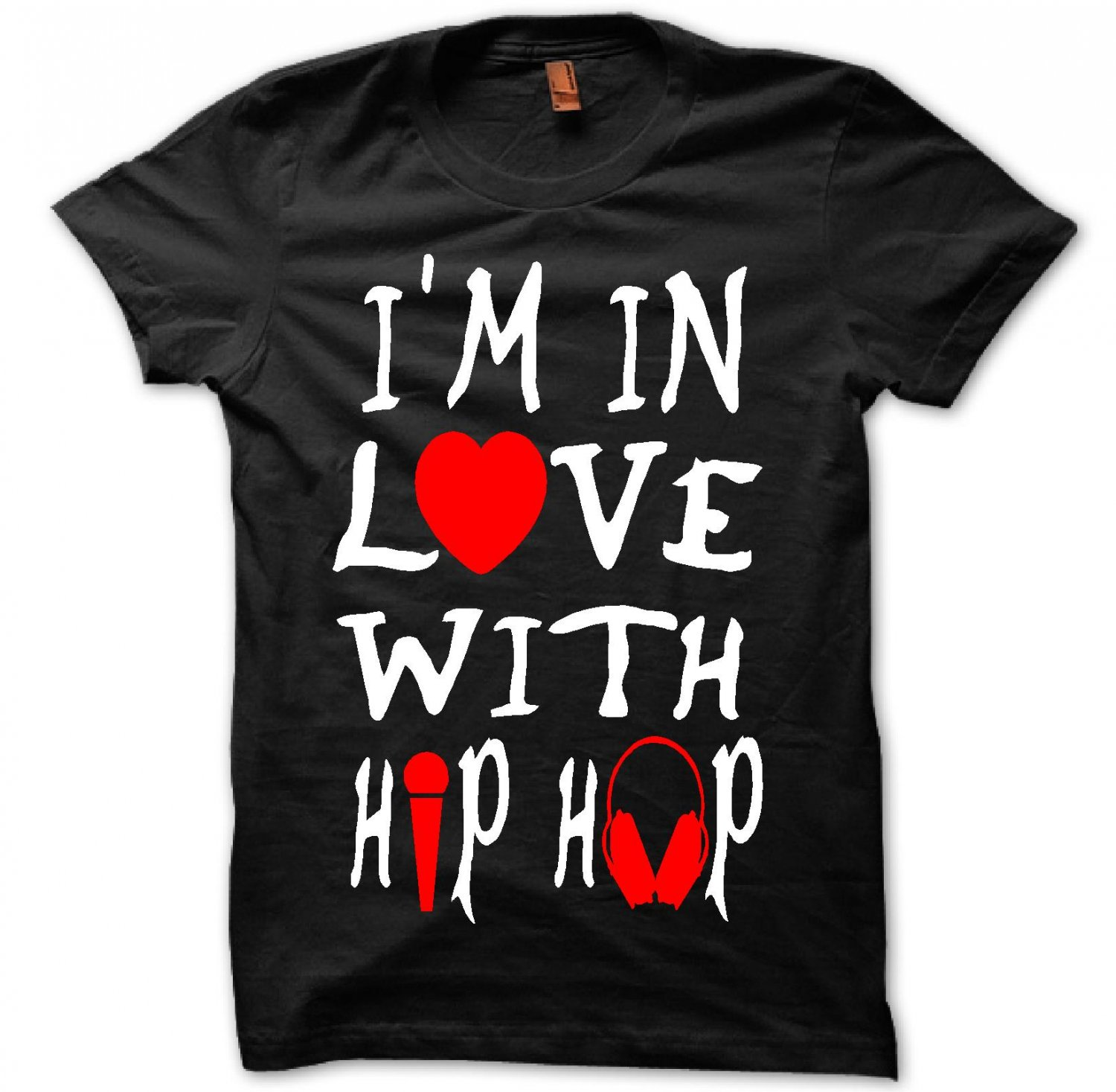 I'M IN LOVE WITH HIP HOP (Women Medium)
